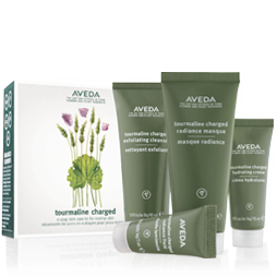 Aveda Tourmaline skin care